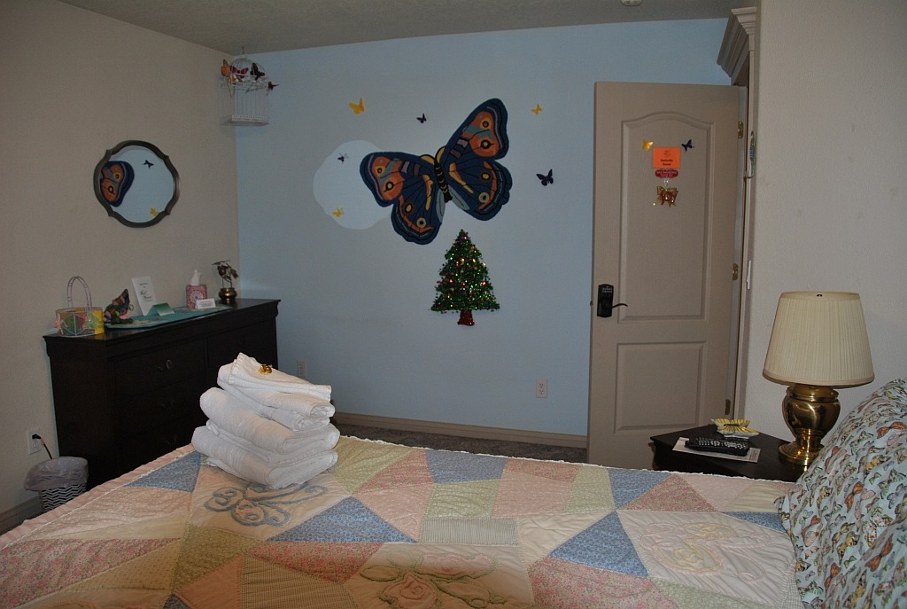 The Butterfly Room at our Bed and Breakfast